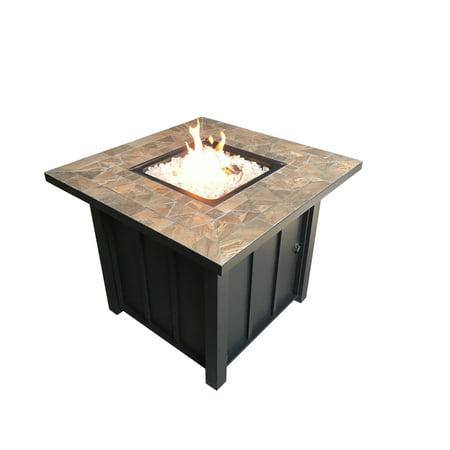AZ Patio Heaters Square Tile Top Fire Pit ()