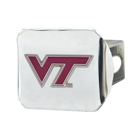 Virginia Tech Auto - Virginia Tech Color Hitch Chrome 3.4