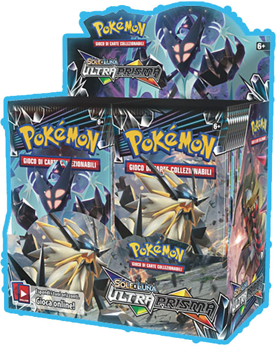 Pokemon TCG: Sun and Moon Ultra Prism Booster Box February 2018 Release by POKEMONUSA