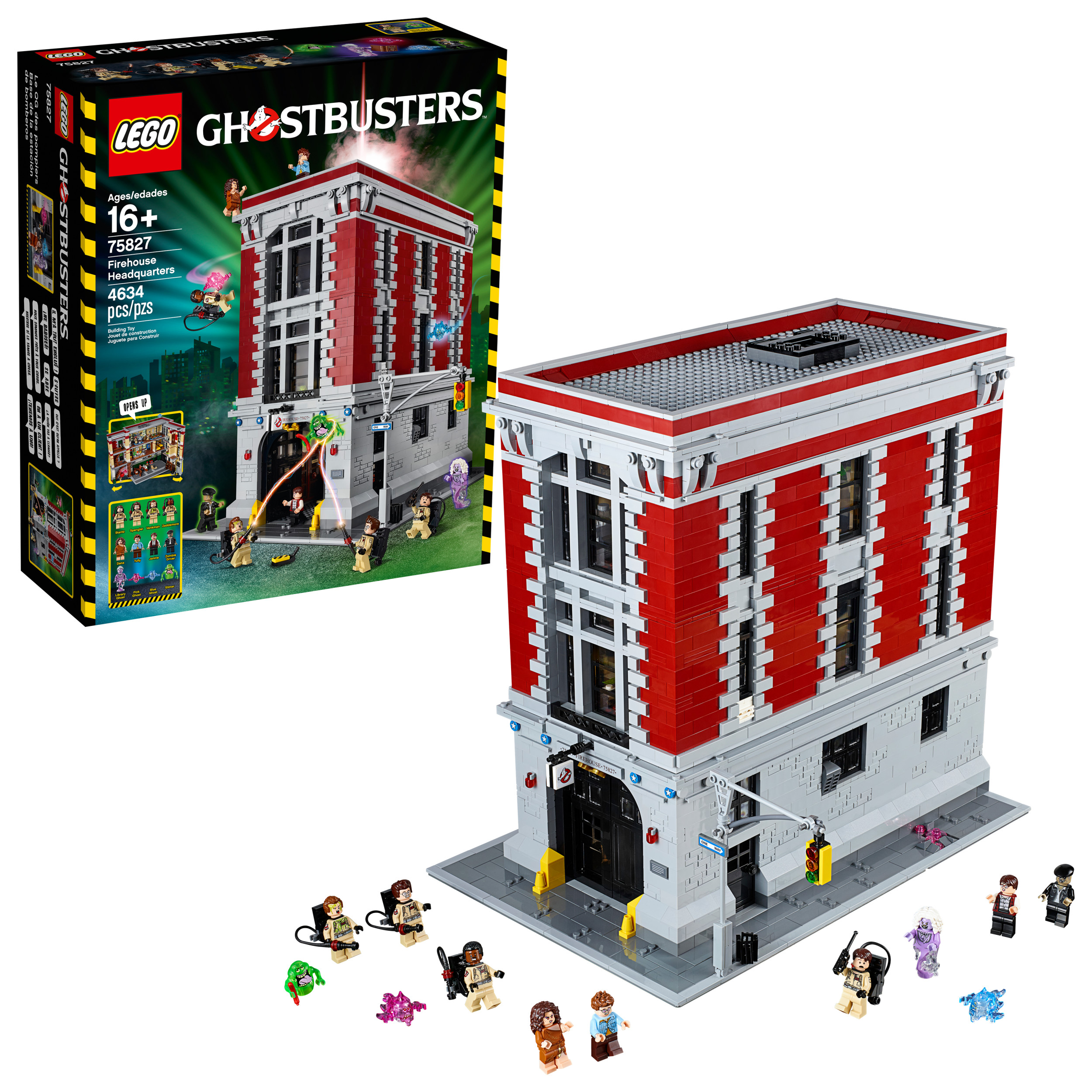 Lego Ghostbusters Firehouse Headquarters 75827 by LEGO System Inc