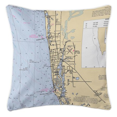 Longshore Tides Addyson Naples, FL Throw Pillow