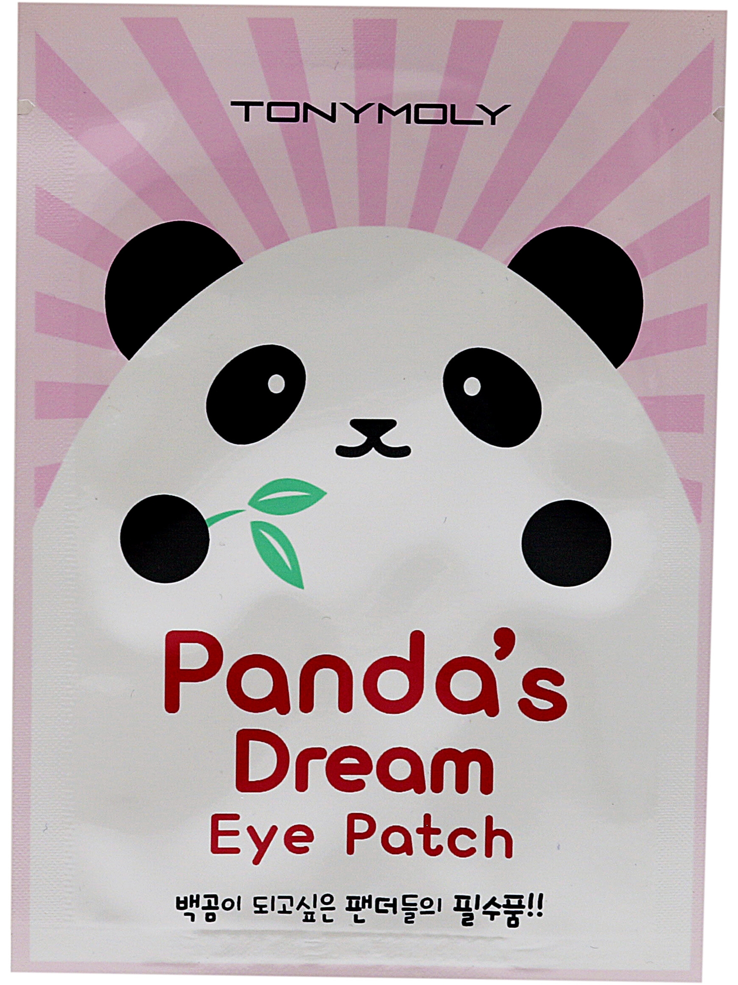 Tonymoly Women's Panda's Dream Eye Patch Facial Mask TONW-PANDA'SDREAME-PINK80