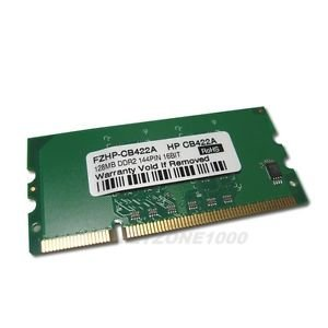 HP CB422A OEM - 128MB, 144-pin, DDR2 SDRAM DIMM 128mb Ddr2 144 Pin