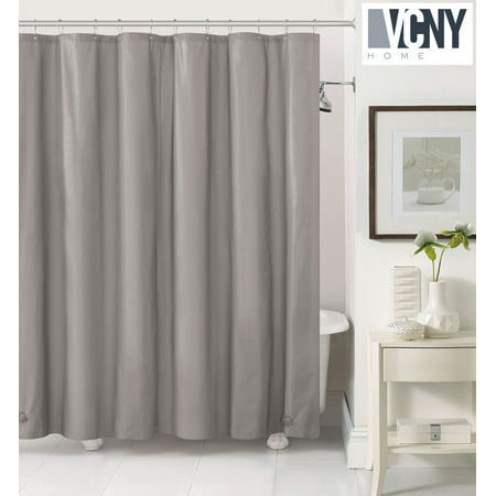 Peva Plastic Shower Curtain Liners With Magnets By Victoria Classics Grey