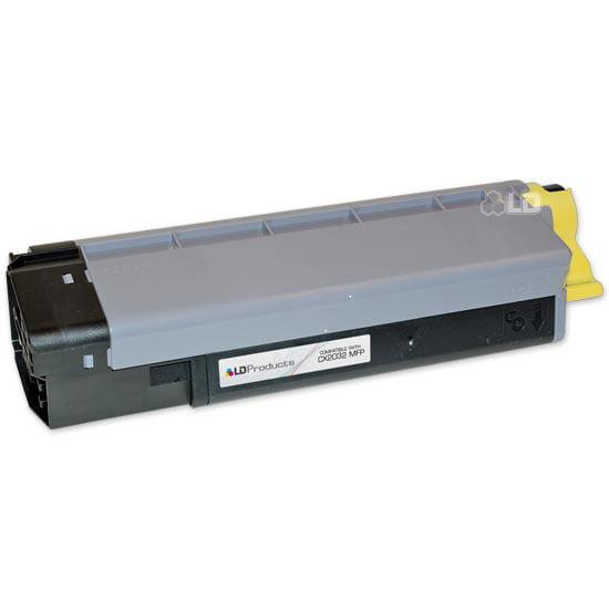LD Okidata Compatible 43324474 'Type C8' Yellow Laser Toner Cartridge for the CX2032 MFP
