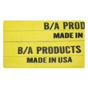 B/A PRODUCTS CO. 9-12-PAD Wear Pad,Yellow,Sling W 12 In