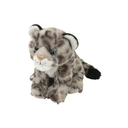 Stuffed Snow Leopard (Wild Republic Snow Leopard Plush, Stuffed Animal, Plush Toy, Kids Gifts, Cuddlekins, 8 Inches)
