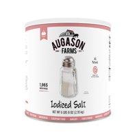 Augason Farms 104 oz Iodized Salt (10-Can)