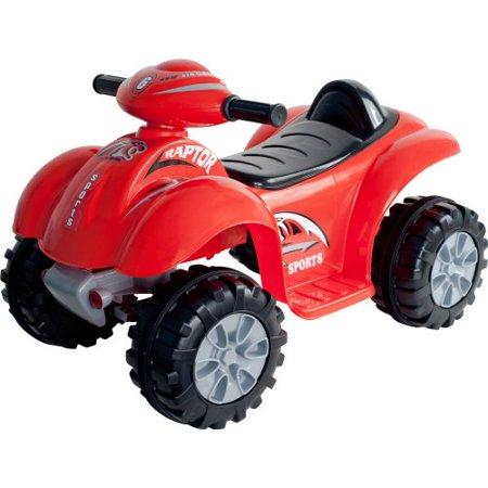 Ride On Toy Quad Battery Powered Ride On Atv Dinosaur Four Wheeler