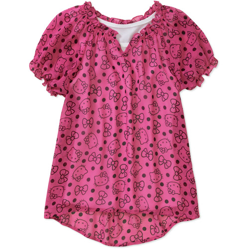 Hello Kitty Girls Fashion Top