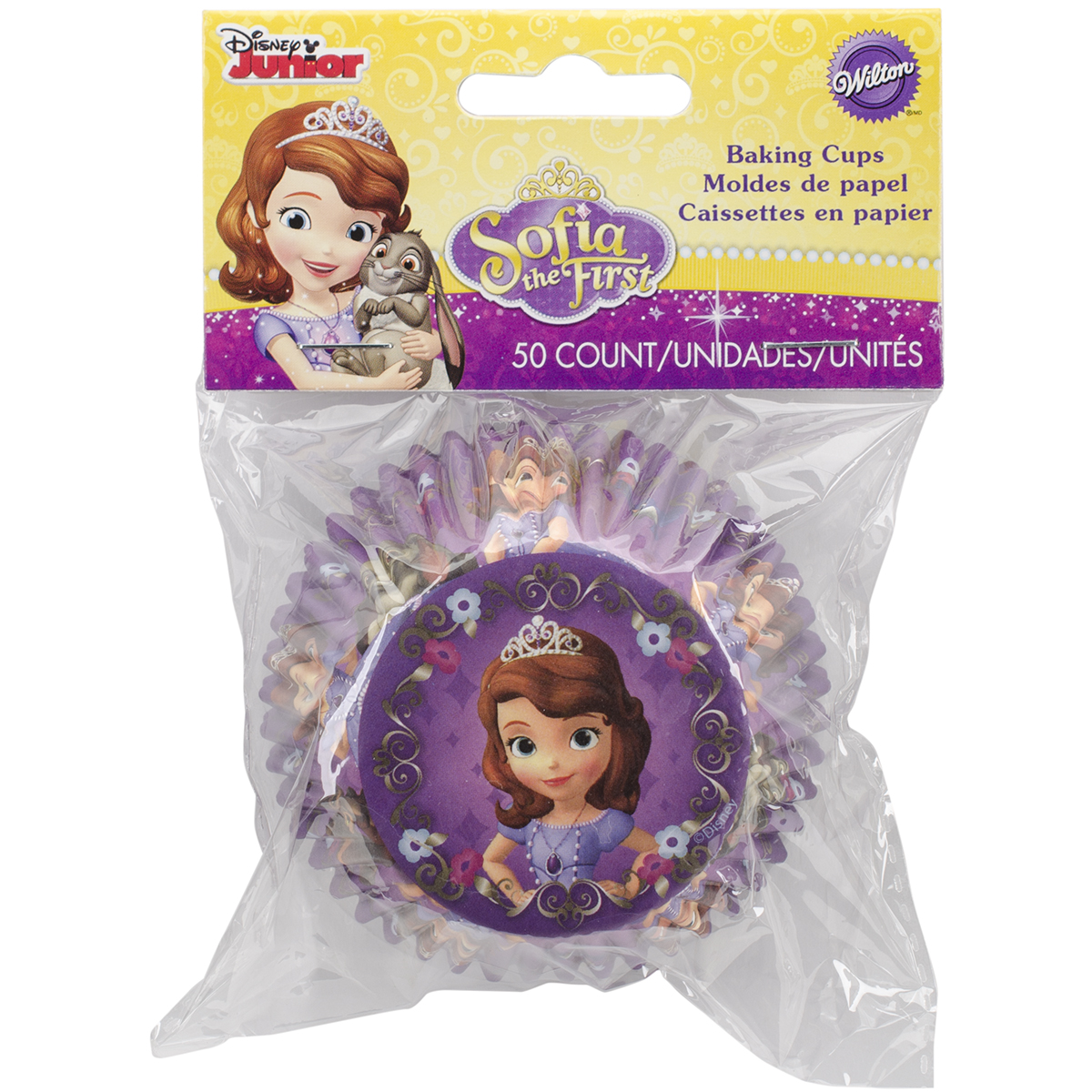 Standard Baking Cups-Sofia The First 50/Pkg