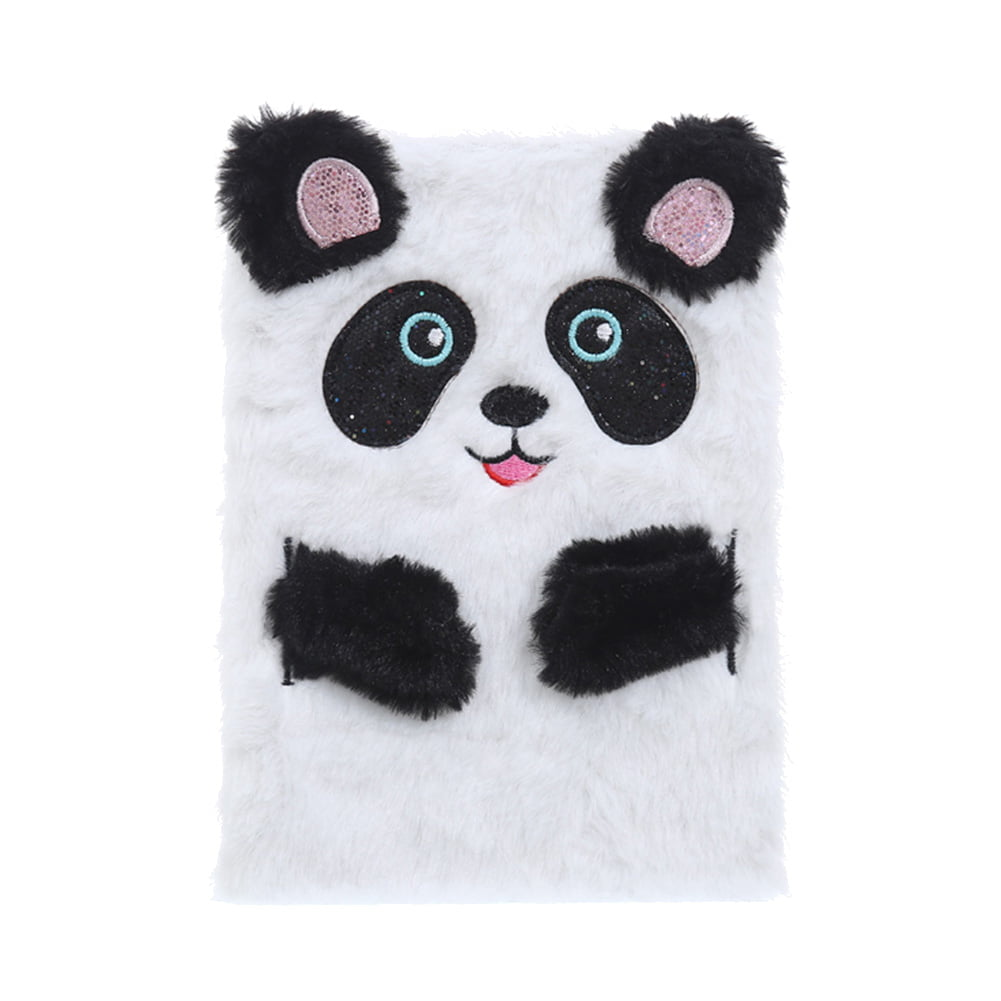 Travel Classic Notebook Diary Notebook Cartoon Animal Panda Coil Mini Notepad CF