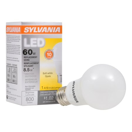Sylvania LED Light Bulb, 60 WE, A19, Soft White - Corporate Perks ...