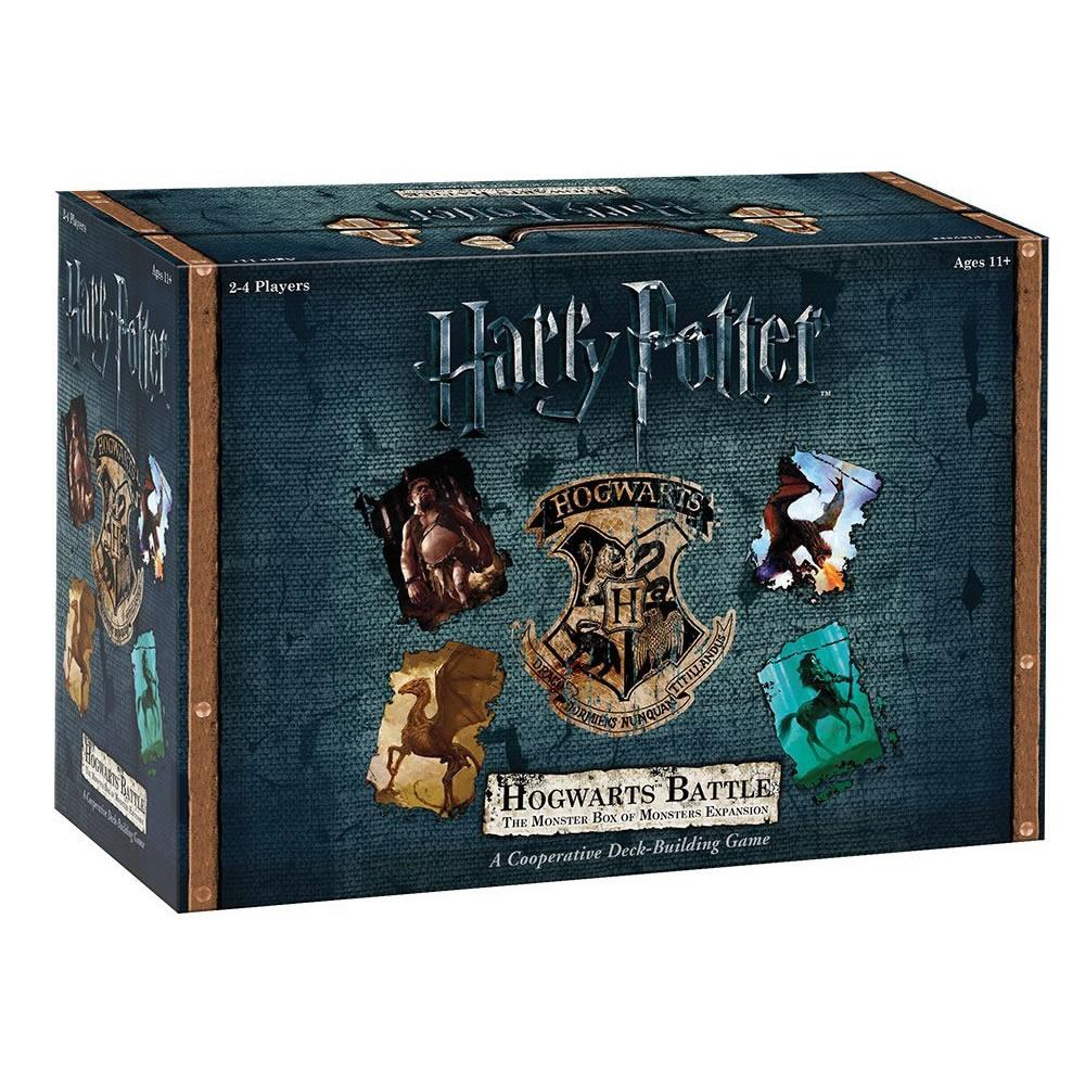 Harry Potter Monster Box of Monsters Expansion Hogwarts Battle Card Game USAopoly DB010508