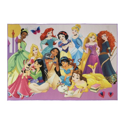 "Disney Princess Party Rug, 54""x78"""