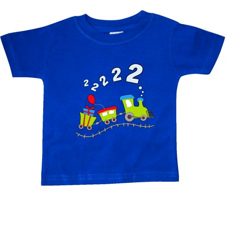 Inktastic 2Nd Birthday Party Train Baby T Shirt Birthdays Second Engine Driver