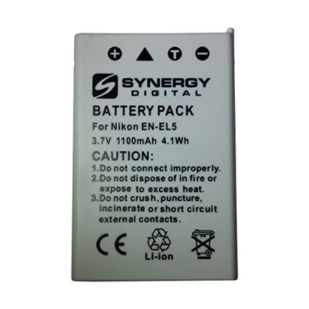 Nikon Coolpix P510 Digital Camera Battery (1100 mAh) - Replacement for Nikon EN-EL5