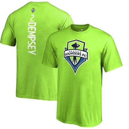 sports shoes 55556 2c116 Clint Dempsey Seattle Sounders FC Fanatics Branded Youth MLS Backer T-Shirt  - Rave Green