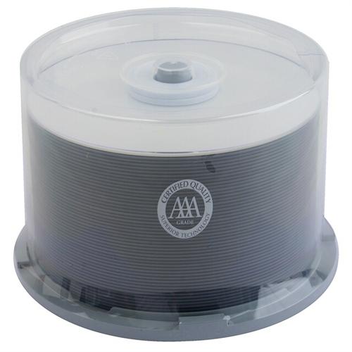 50 Spin-X 16X DVD+R 4.7GB White Inkjet Hub