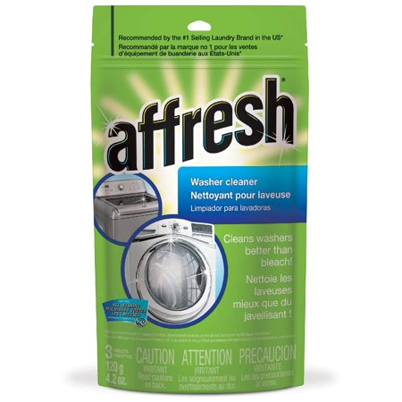Affresh High Efficiency Washer Cleaner, 3-Tablets, 4.2 Ounce..