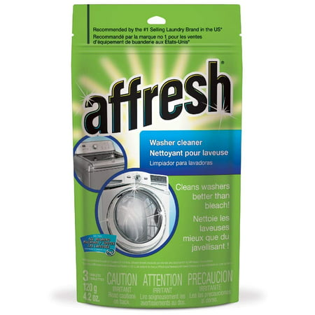 Affresh High Efficiency Washer Cleaner, 3-Tablets, 4.2