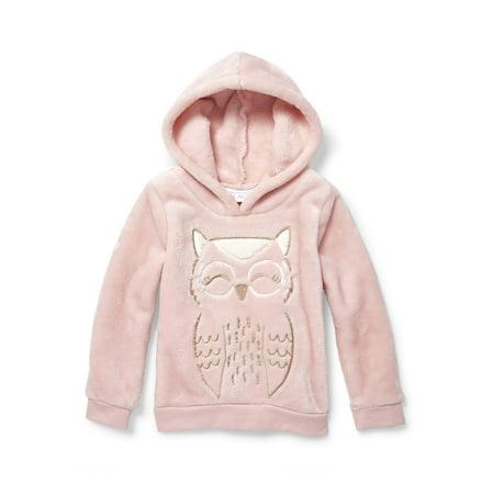 - The Children's Place Pullover Sherpa Hoodie Sweatshirt (Toddler Girls)
