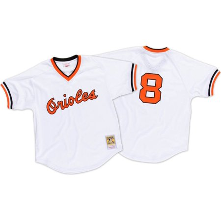 Cal Ripken Jr. Baltimore Orioles Mitchell & Ness Authentic 1985 BP Jersey by