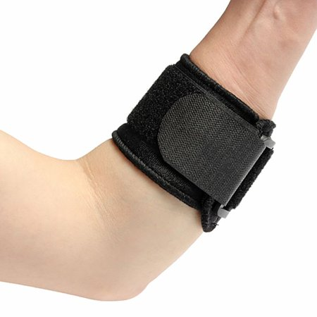 Adjustable Elbow Support Brace Tennis Sport Protector Pad Band Strap