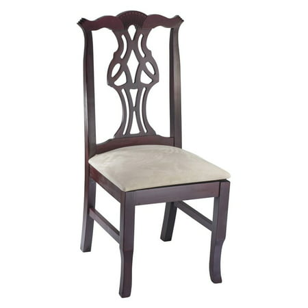 Solid Mahogany Chippendale Claw (Chippendale Side Chair in Dark)