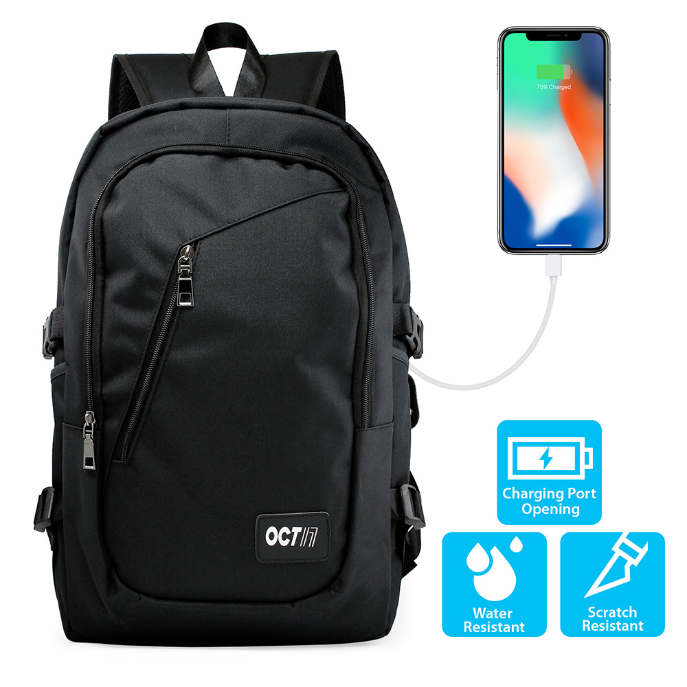 Business Laptop Anti Theft Computer Water-resistent School Backpack