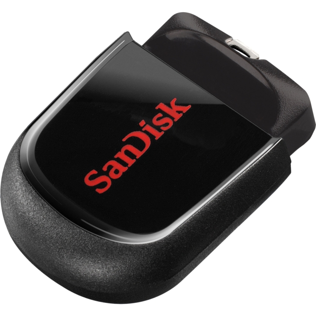 SanDisk 32GB Cruzer Fit USB Flash Drive - 32 GB - USB - Encryption Support, Password Protection