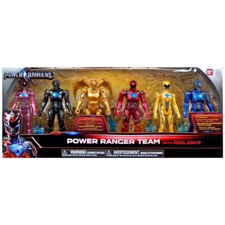 Action Figure Multi Pack - Power Rangers Movie Power Ranger Team Action Figure 6-Pack [with Goldar]