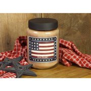 Old Glory 26 oz. Candle, More Science History by Lang Companies