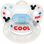 NUK Disney Mickey Mouse Silicone Orthodontic Pacifier, Set of 2, 0-6 Months