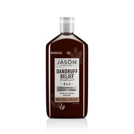Jason Natural Products Dandruff Relief Treatment Shampoo and Conditioner, 12 Ounce Jason Dandruff Control Shampoo