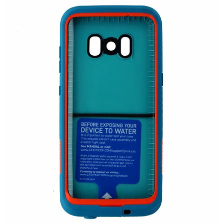 new styles 73bd6 d5cdb LifeProof FRE Series Waterproof Case Cover for Samsung Galaxy S8 - Teal /  Orange (Refurbished)