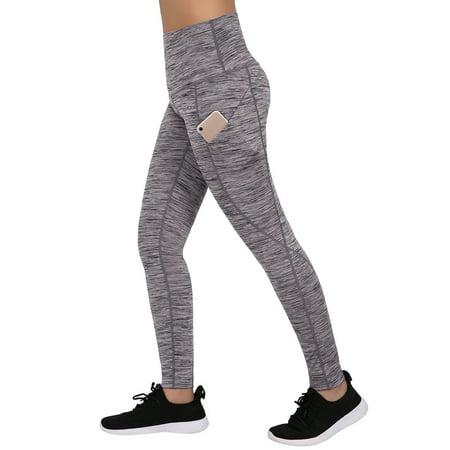 6386d0208b862 HDE - HDE Women's High Waist Yoga Pants Athletic Leggings with Smartphone  Pocket - Walmart.com