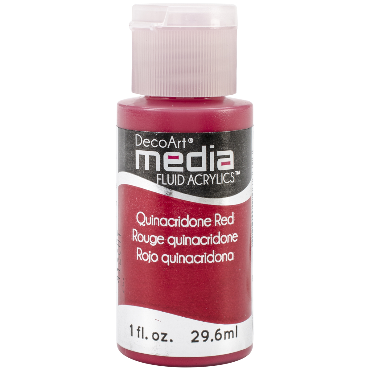 Media Fluid Acrylic Paint 1oz-Quinacridone Red (Series 5)