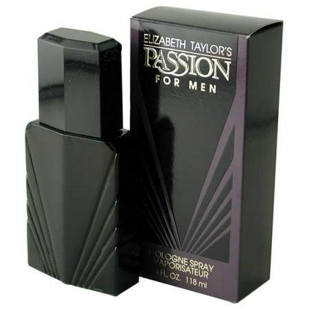 Passion by Elizabeth Taylor for Men, Cologne Spray, (Passion Hd Men)
