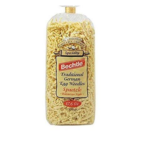 Bavarian Style Spaetzle Traditional German Egg Noodles, 17.6 Ounce (2 Bags) Oriental Style Noodle