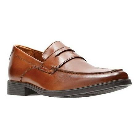 Men's Clarks Tilden Way Penny Loafer (Best Way To Clean Sperry Boat Shoes)