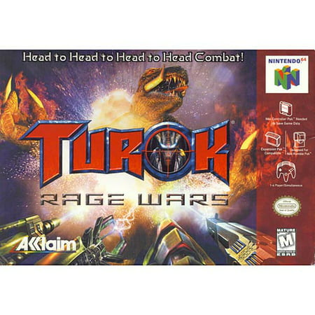 Image of Turok: Rage Wars