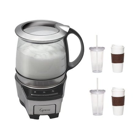 Capresso 206 05 Froth Tec Automatic Milk Frother With 2