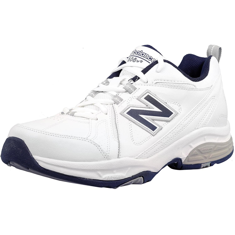 New Balance Men's Mx608V3 W Ankle-High Leather Tennis Sho...