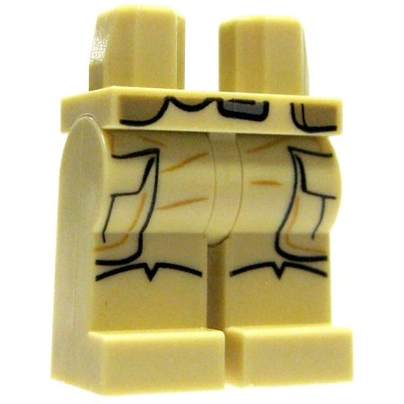 LEGO Star Wars Tan Corgo Pants Loose Legs - Leg Wars