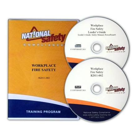 Workplace Fire Safety Training Kit w/DVD Fire Safety Kit