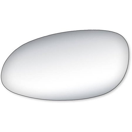 - 99066 - Fit System Driver Side Mirror Glass, Buick Century, Regal Sedan 97-05, Oldsmobile Intrigue 98-02