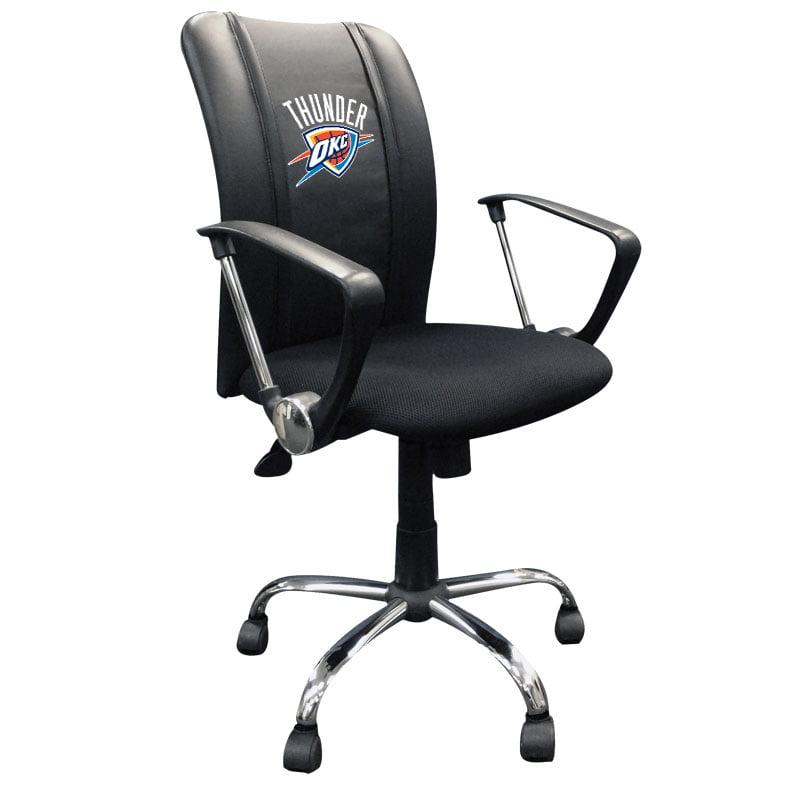 Oklahoma City Thunder NBA Curve Task Chair