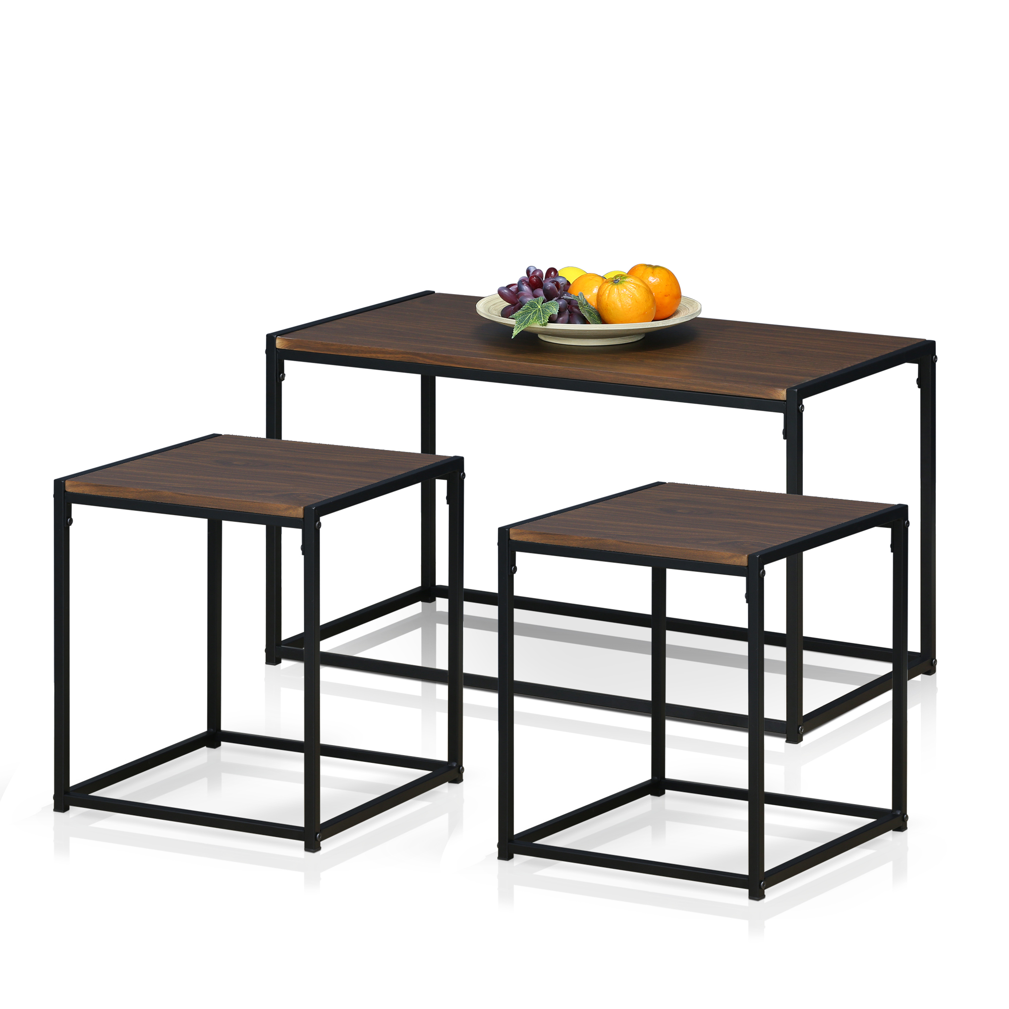 Furinno Ernst Modern Living Room Set, Multiple Colors