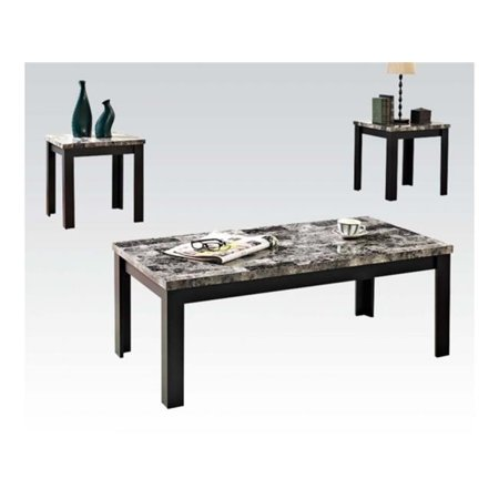 Acme Furniture 80320 Living Room Coffee End Table Set